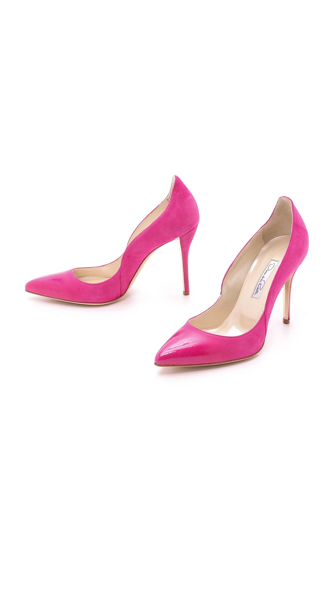 Shocking Pink Heels