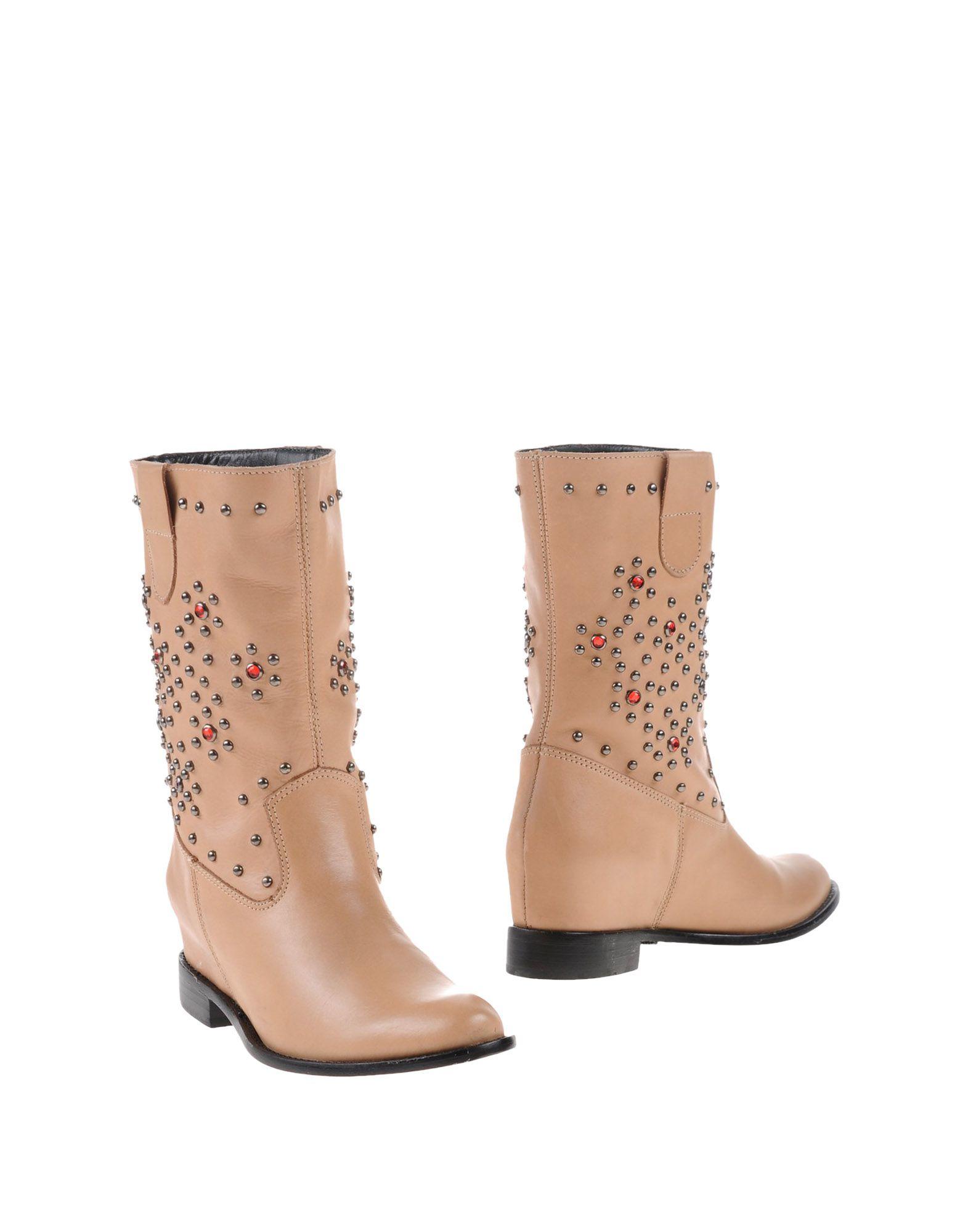 schutz ankle boots in beige sand save 69 lyst