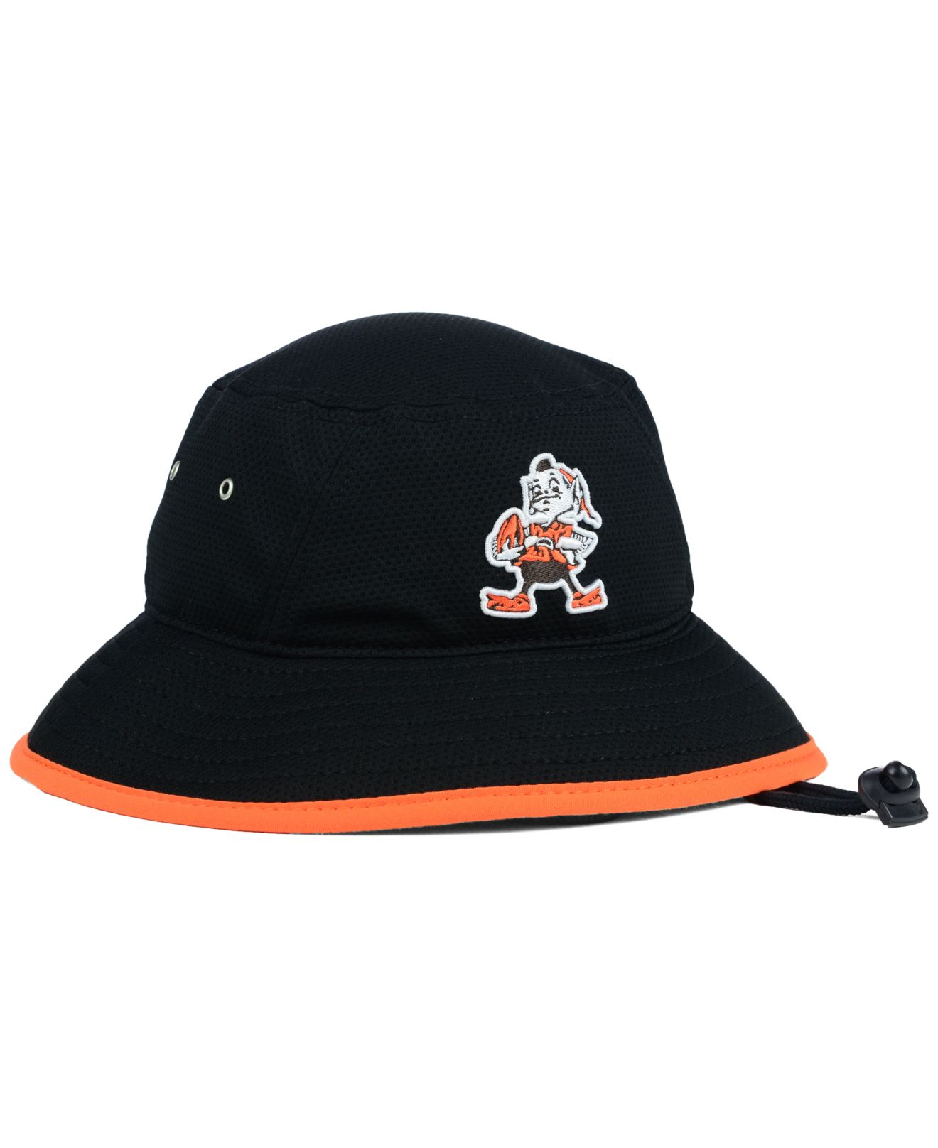38e50737a73 Lyst Ktz Cleveland Browns Training Bucket Hat In Black For Men