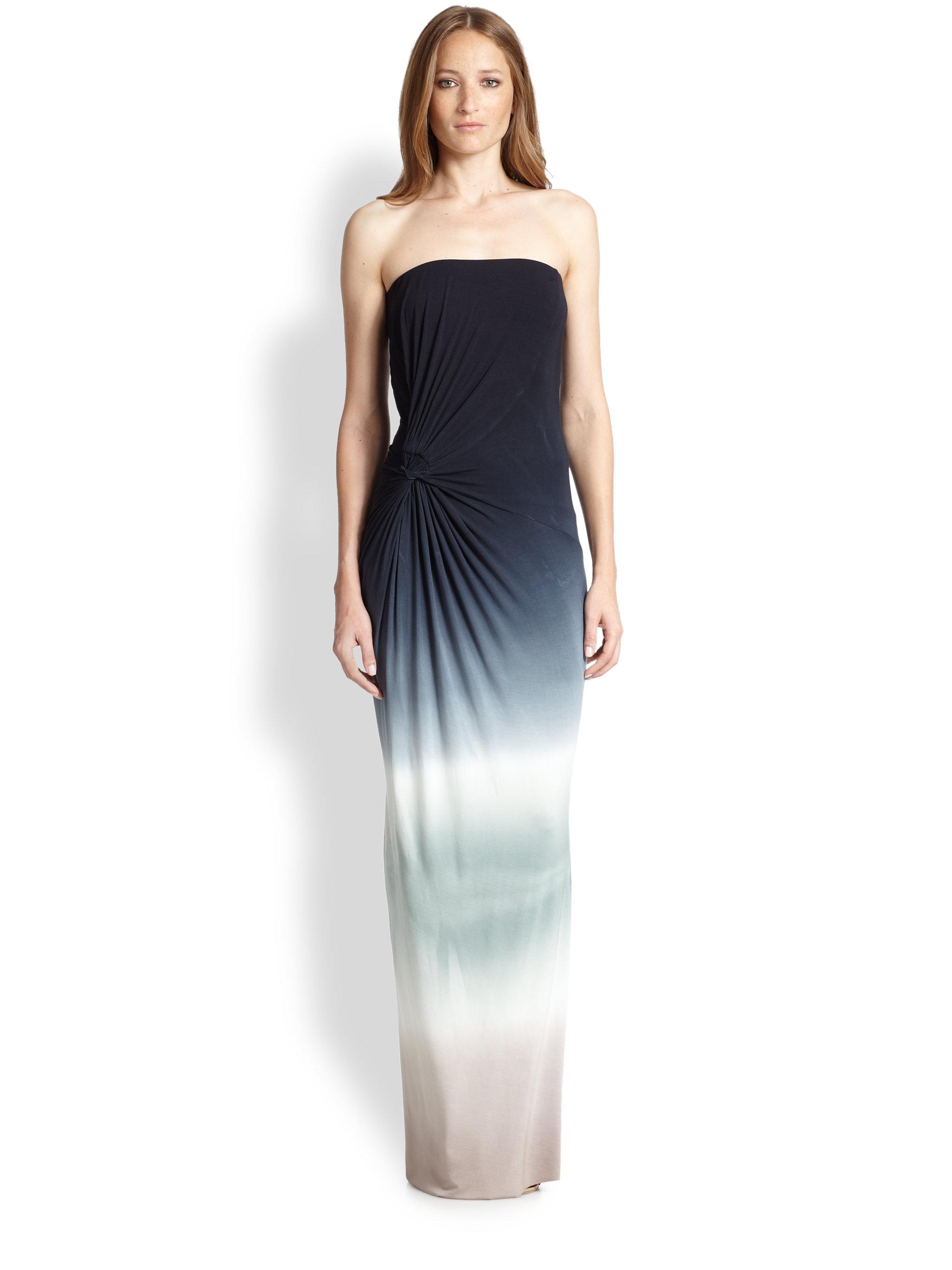 Lyst Young Fabulous Amp Broke Chandra Ombr 201 Maxi Dress