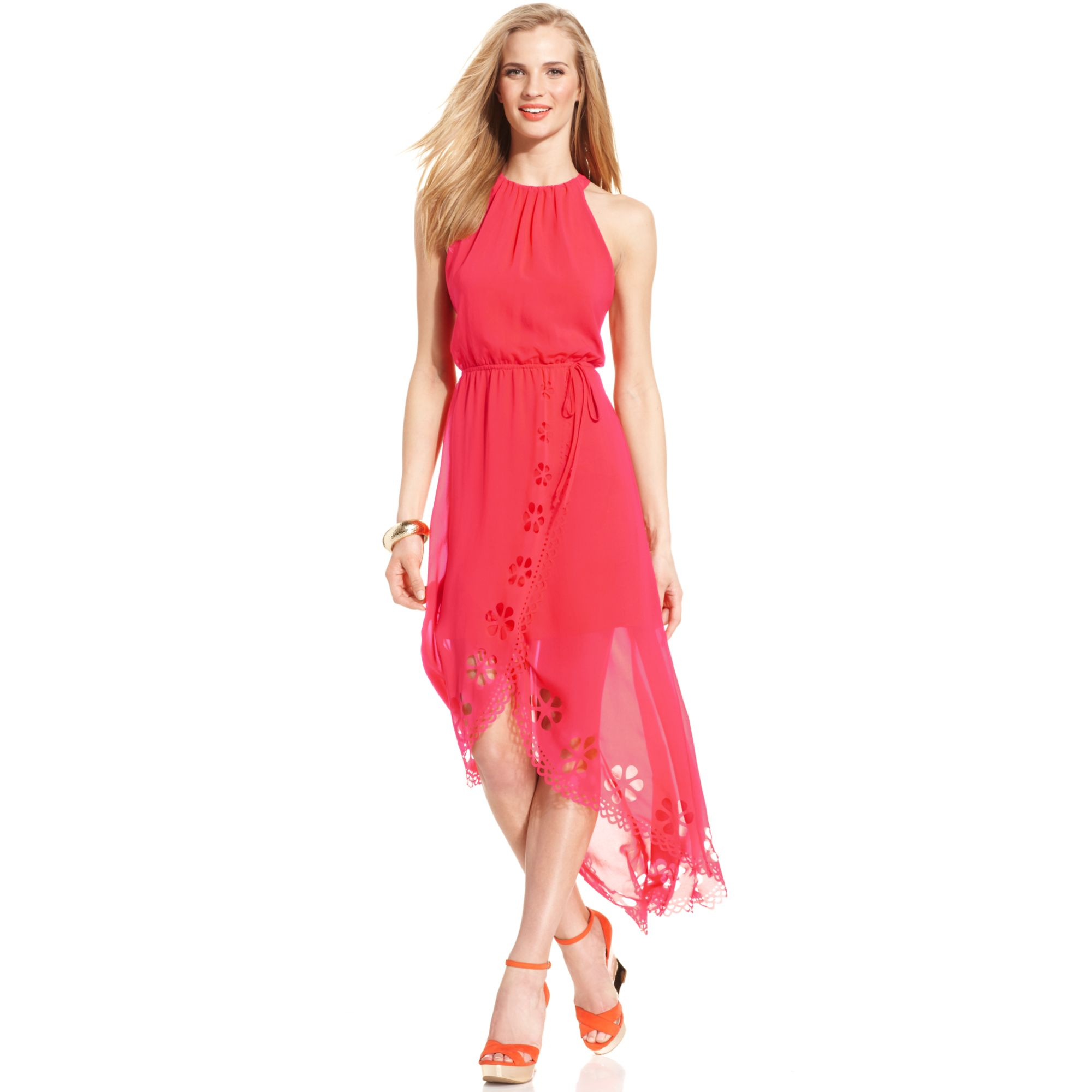 Jessica simpson jersey maxi dress