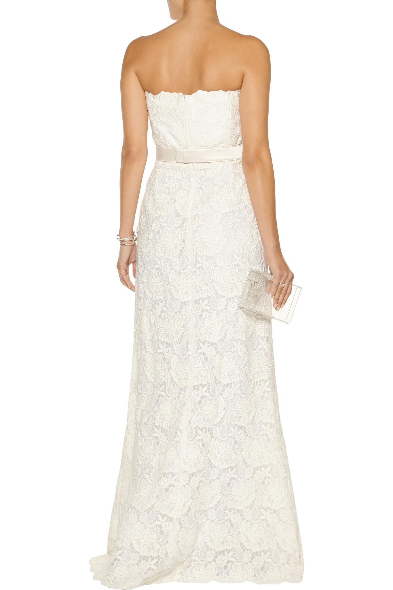 White - Ivory - 100 Polyester Satin Gown - GWN 11 IV White - Ivory - 100 Polyester Satin Gown - GWN 11 IV new picture