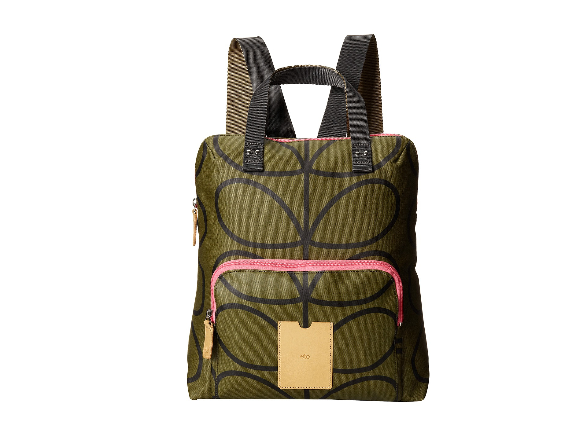 1dfccc965cca Lyst - Orla Kiely Giant Linear Stem Backpack Tote in Green