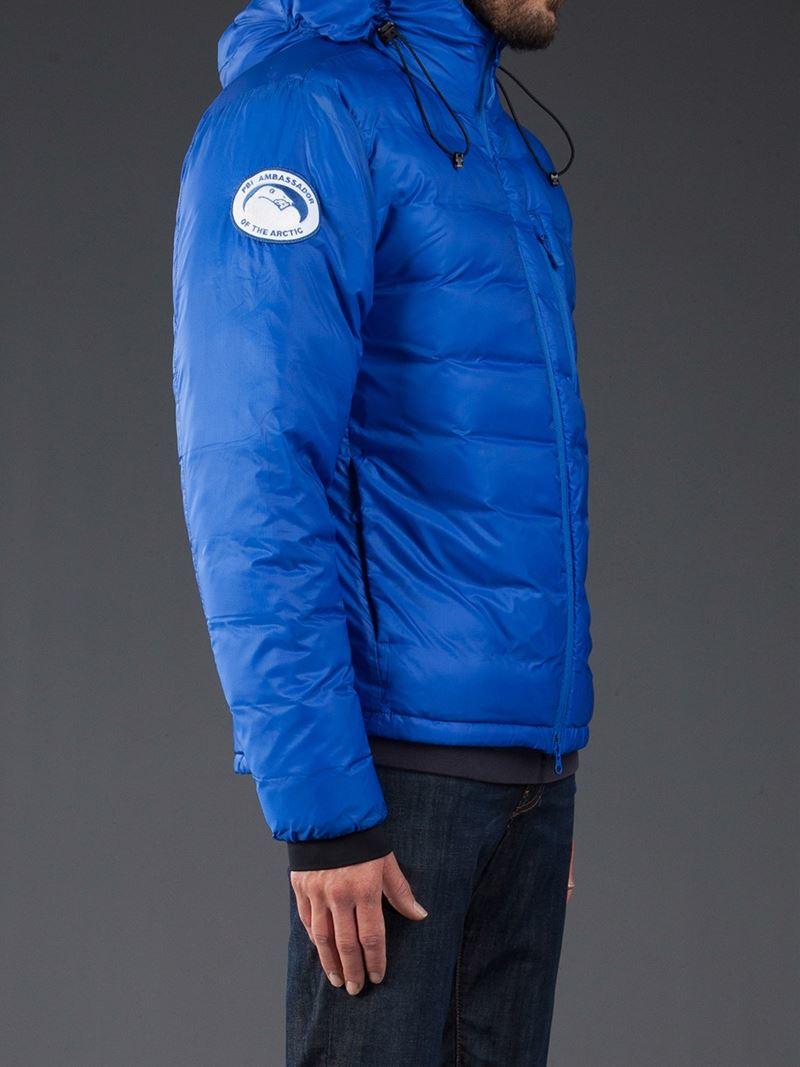 Lyst Canada Goose Pbi Lodge Hoody In Blue For Men