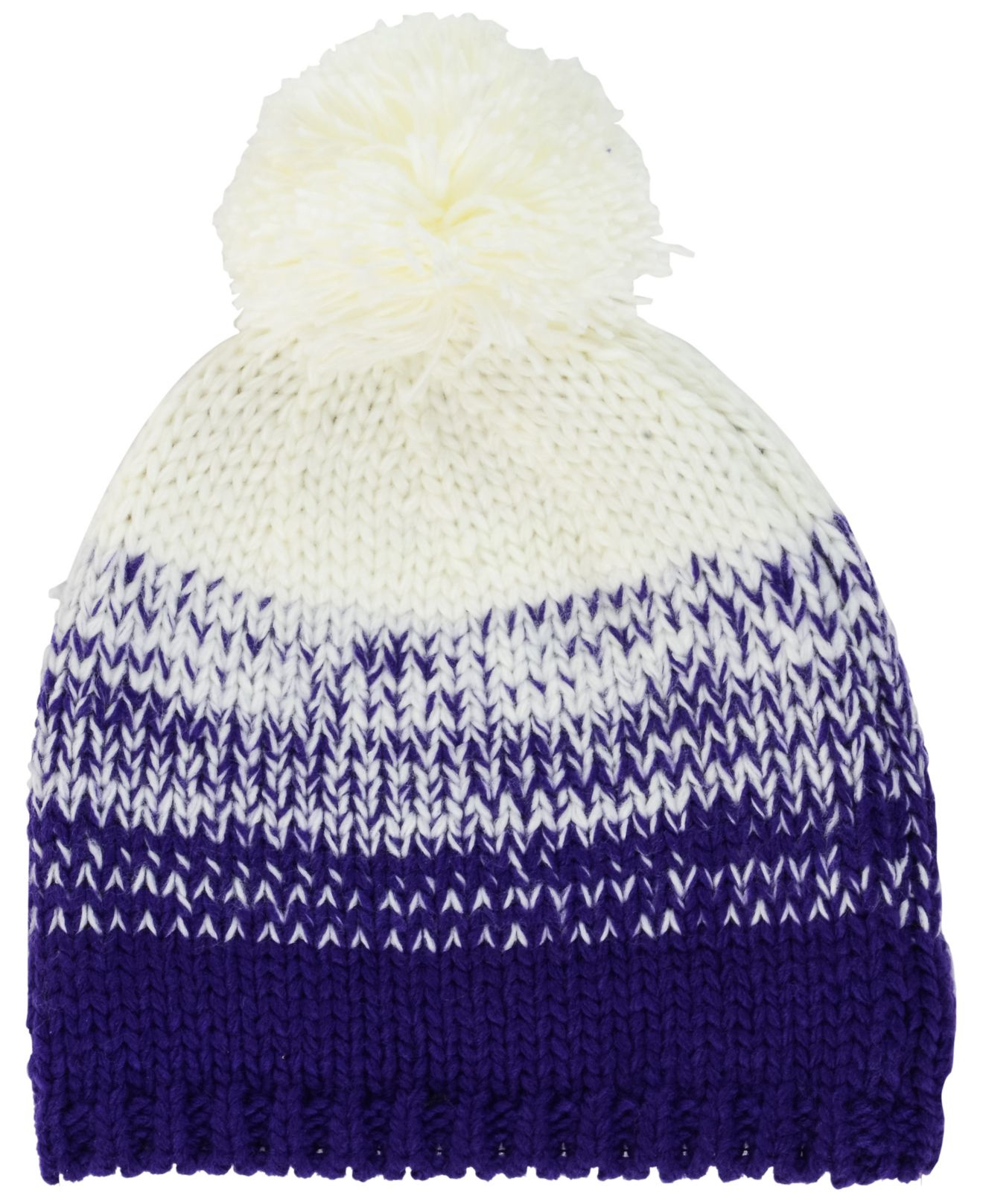 Lyst - KTZ Women s Minnesota Vikings Polar Dust Knit Hat in White 0cb92f568