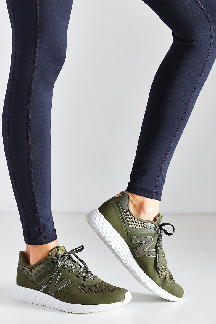 bdaddbf0e New Balance 574 Fresh Foam Running Sneaker in Green - Lyst