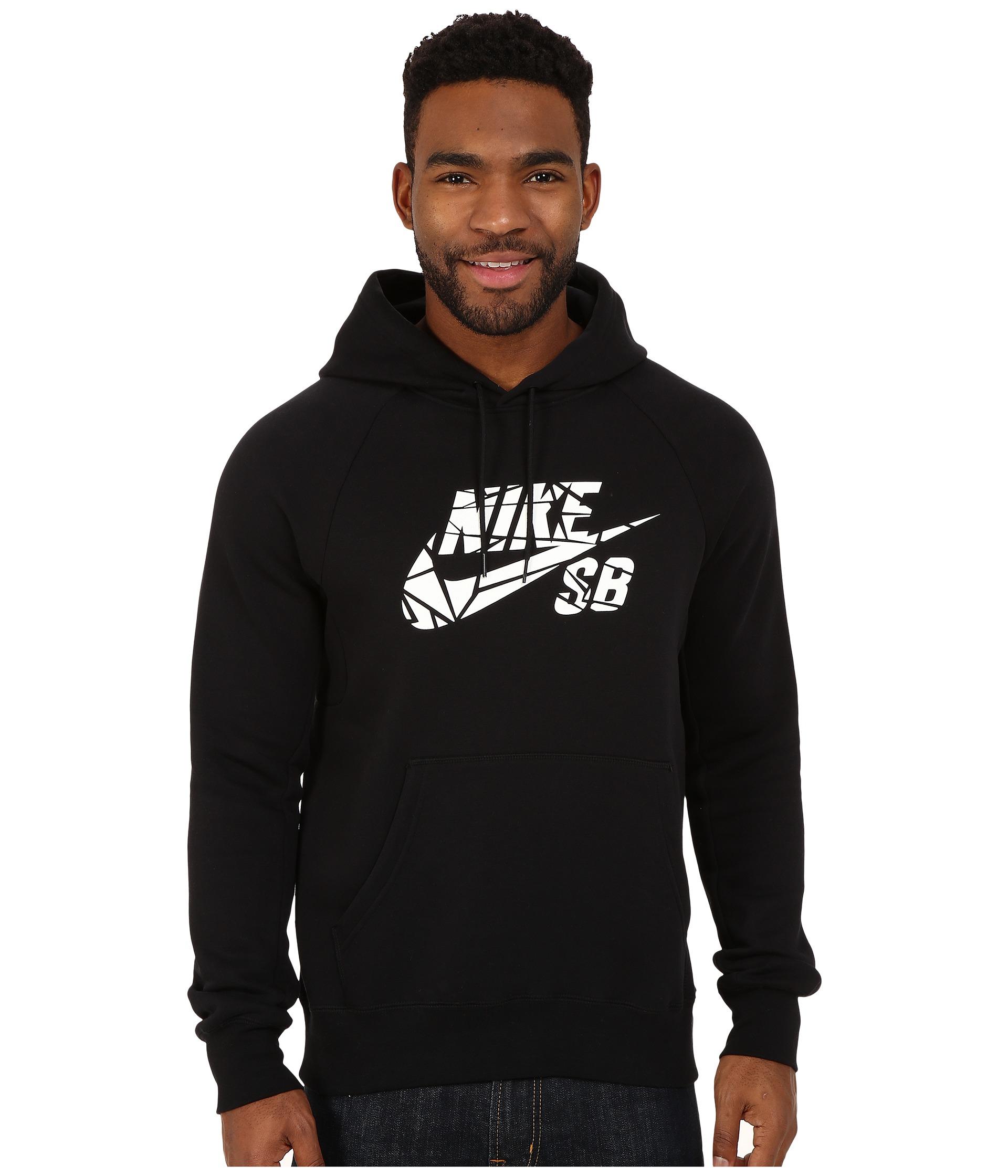 oriens van cleef arpels - Nike Sb Icon Griptape Po Hoodie in Black for Men | Lyst
