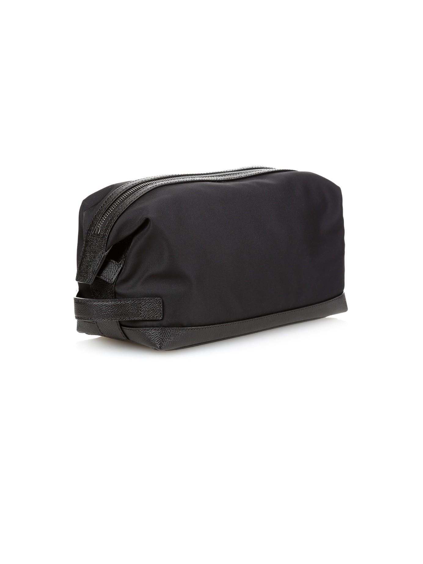 d1faef15afbd Lyst - Burberry Blaine Nylon Washbag in Black for Men
