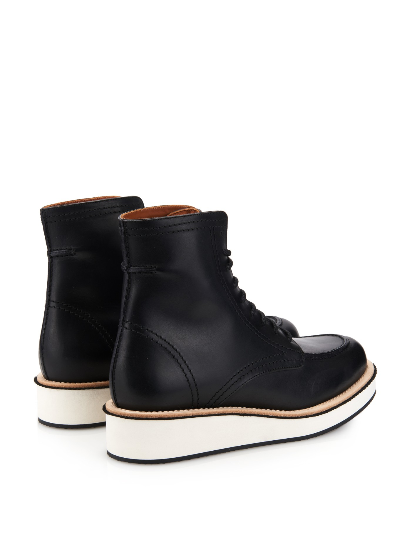 Lyst Givenchy Philippo Leather Ankle Boots In Black For Men