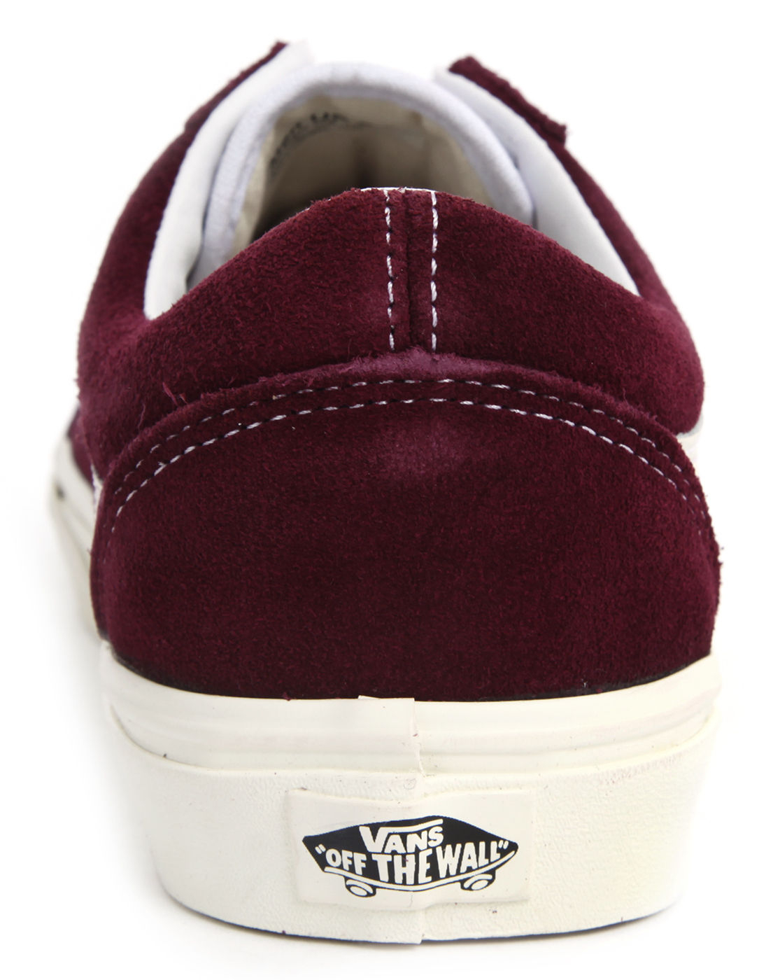 vans bordeaux old skool suede