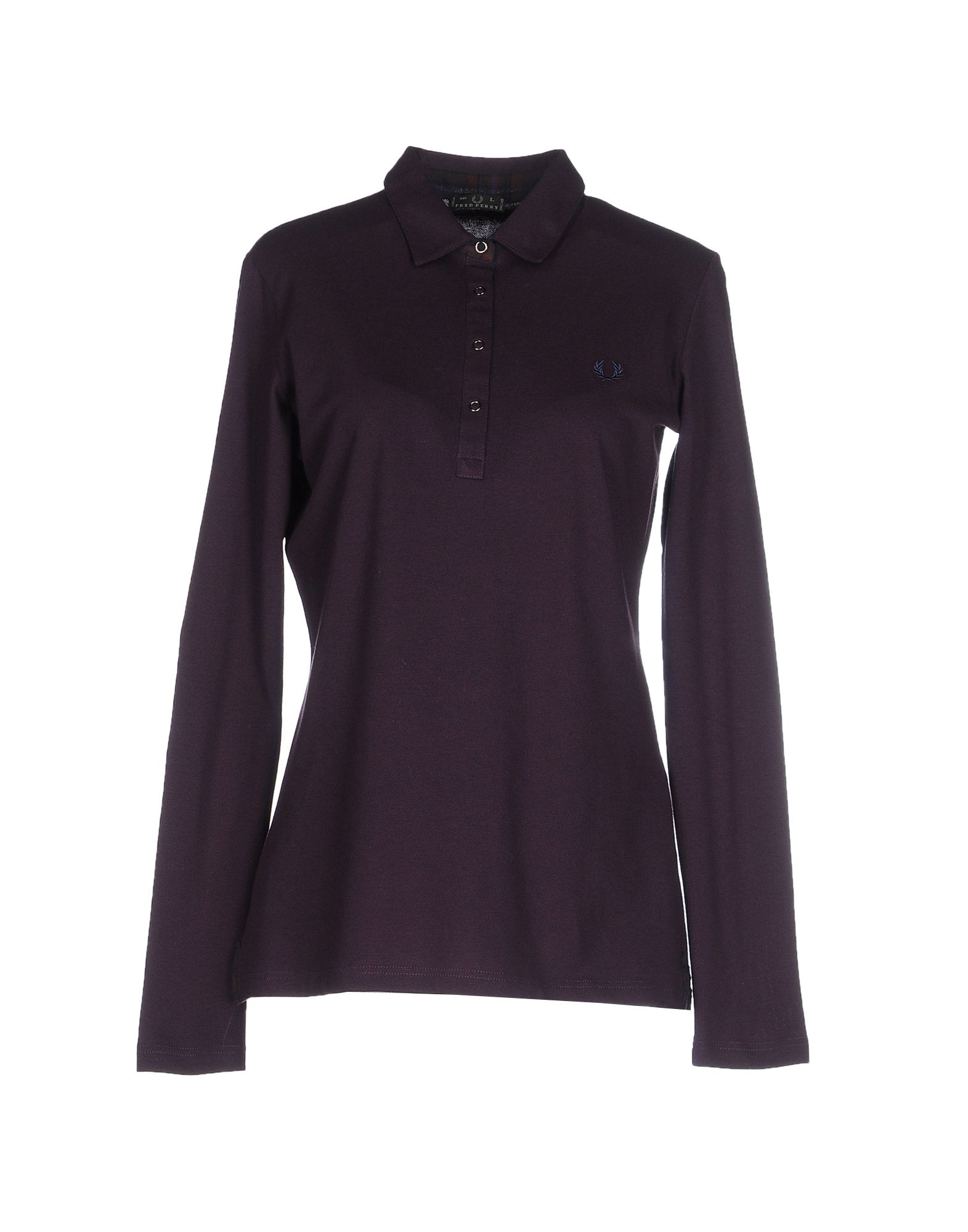 Fred Perry Polo Shirt In Purple Lyst