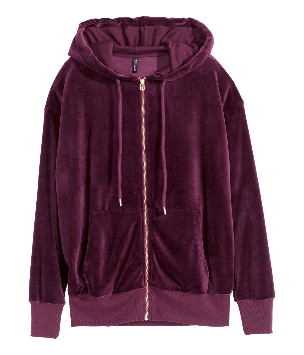 Plush Purple Velour Tracksuit. Includes Jacket & Pants. SPRINGWIND Women's Velour Hoodie+Pant Tracksuit Sport Sweat Suit Set. by SPRINGWIND. $ - $ $ 18 $ 26 FREE Shipping on eligible orders. out of 5 stars Product Features Style: Long Sleeve Sweat Suit.