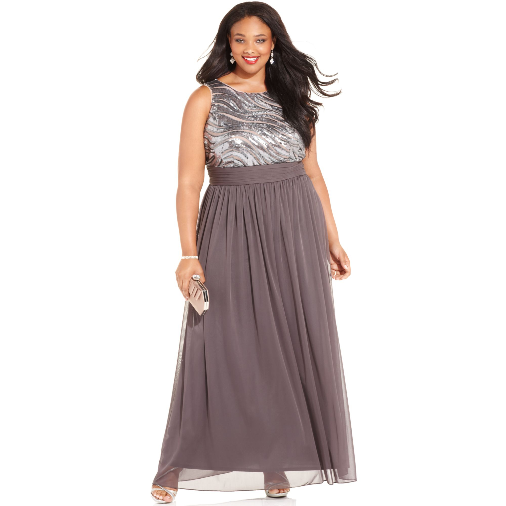 Betsy And Adam Plus Size Formal Dresses - The Best Style ...