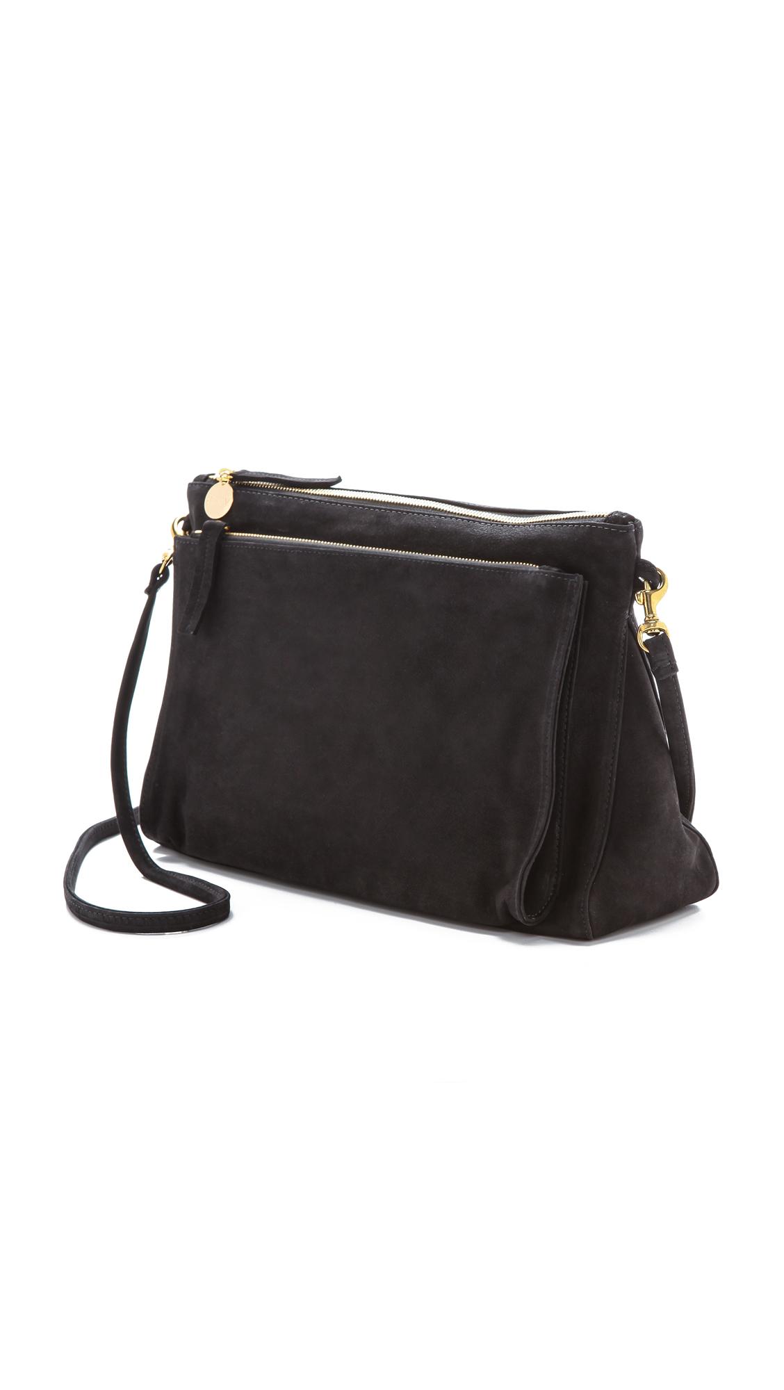 Clare V. Gosee Cross Body Bag Black
