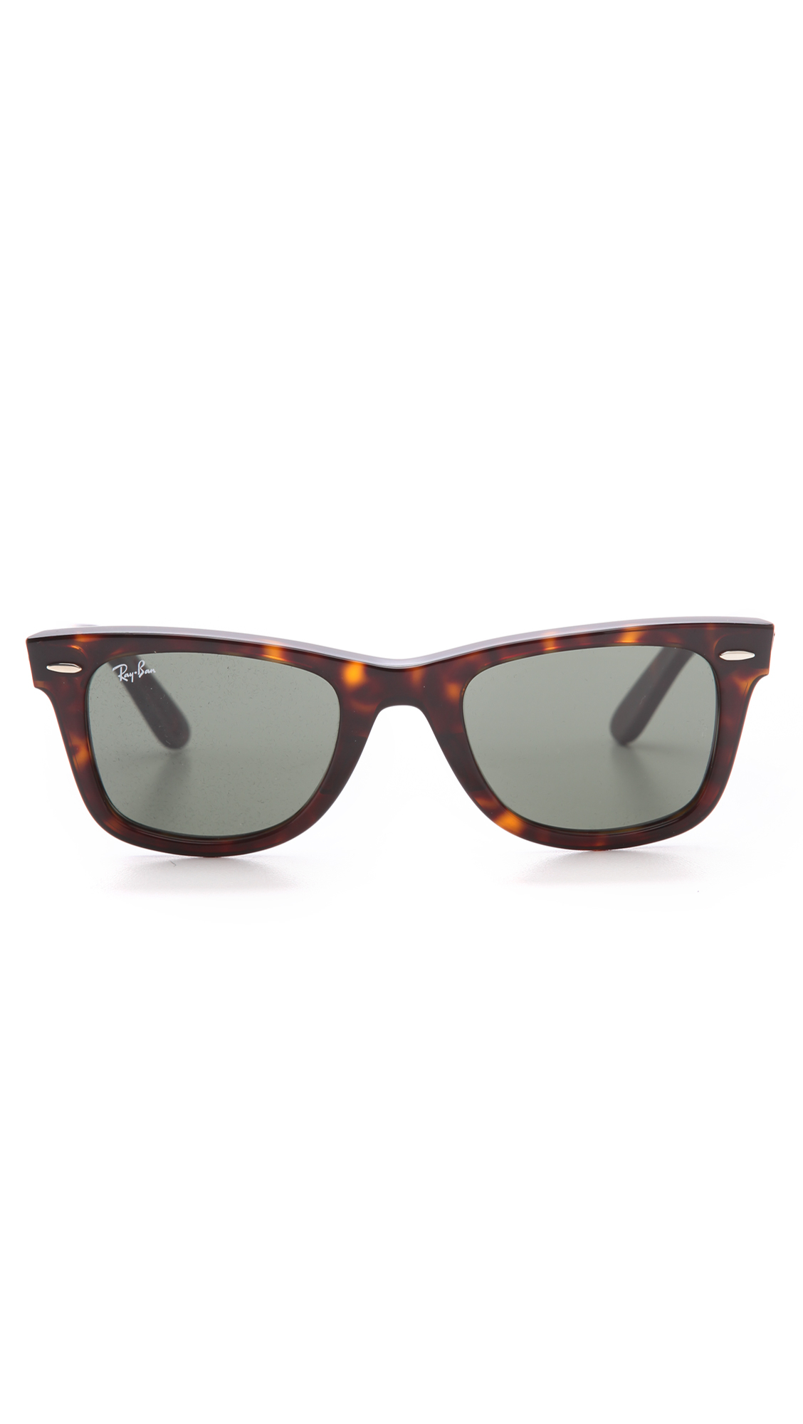 Ray-ban Original Wayfarer Sunglasses in Green for Men ...