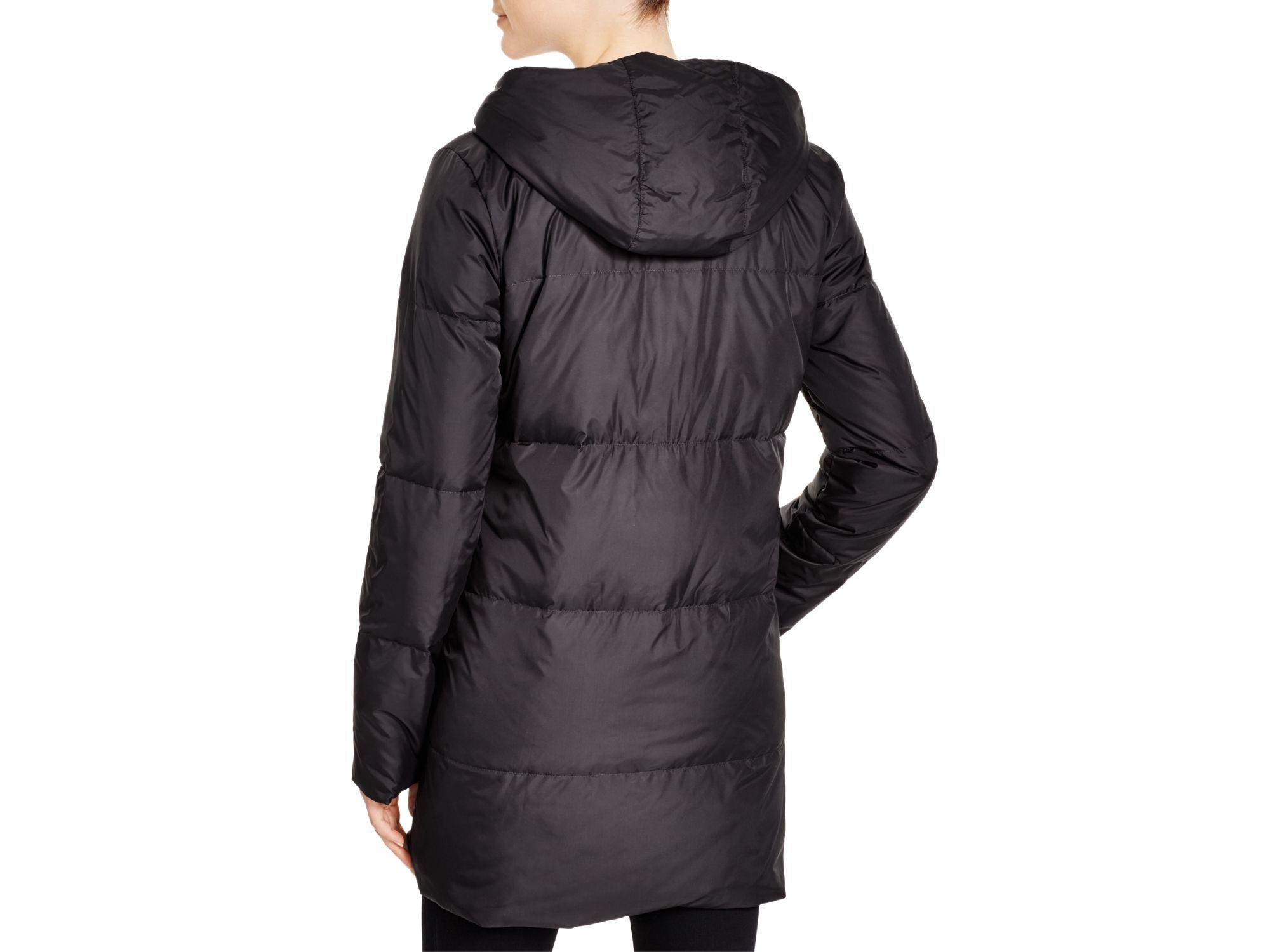 Eileen Fisher Hooded Down Puffer Coat Bloomingdale S