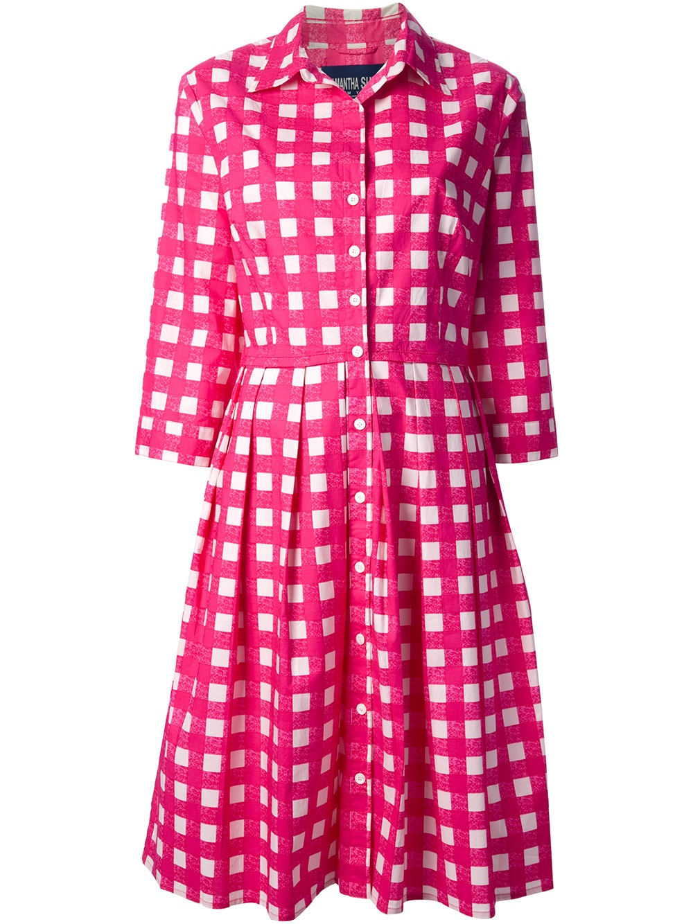Lyst Samantha Sung Audrey Table Dress In Pink