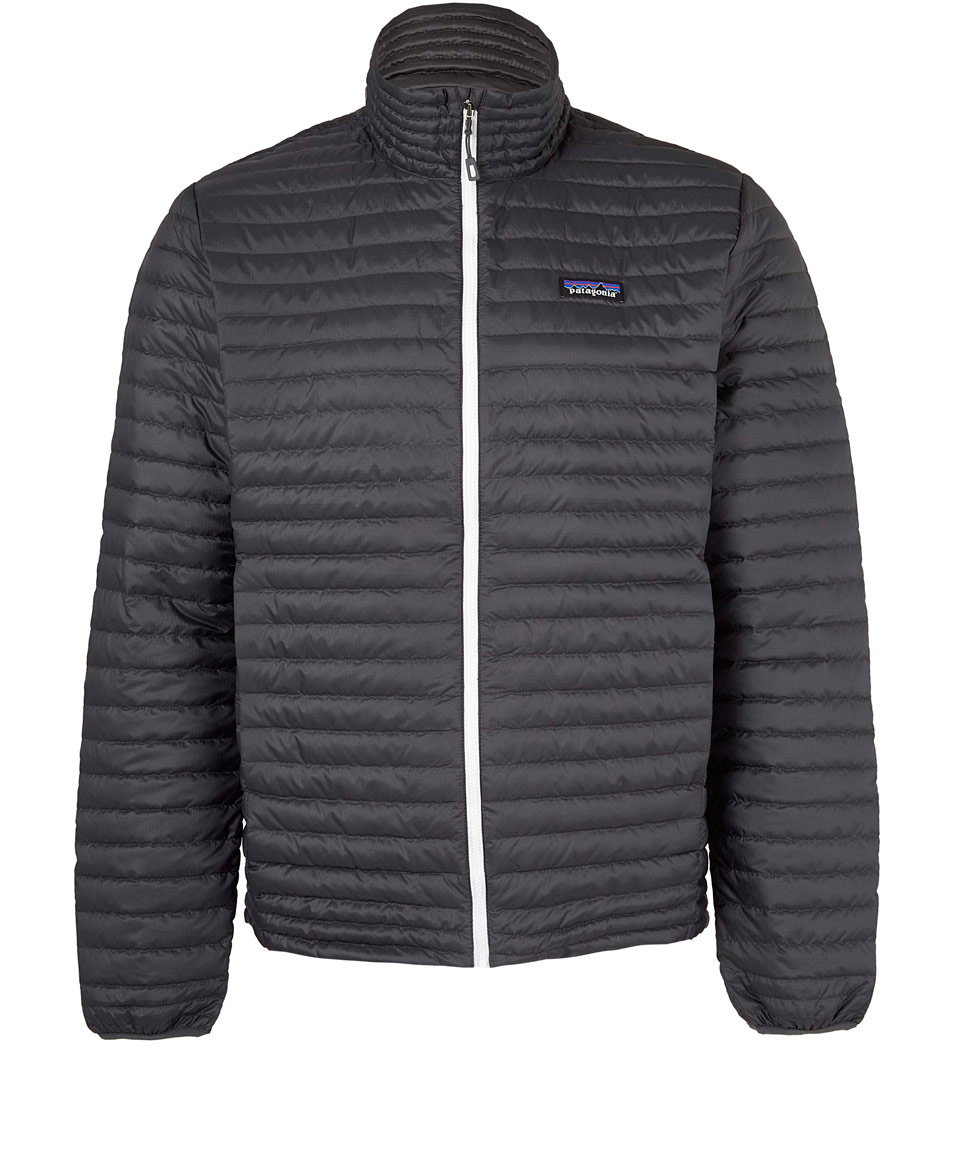 Lyst Patagonia Grey Down Shirt Jacket In Gray For Men