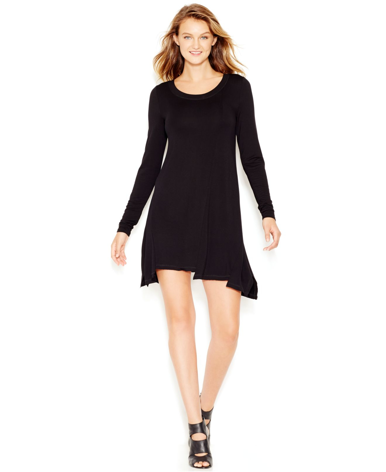 This $20 T-shirt dress with 1, reviews on Amazon is perfect for fall Looking for a comfortable, long-sleeved T-shirt dress with pockets? Check out this best-seller.