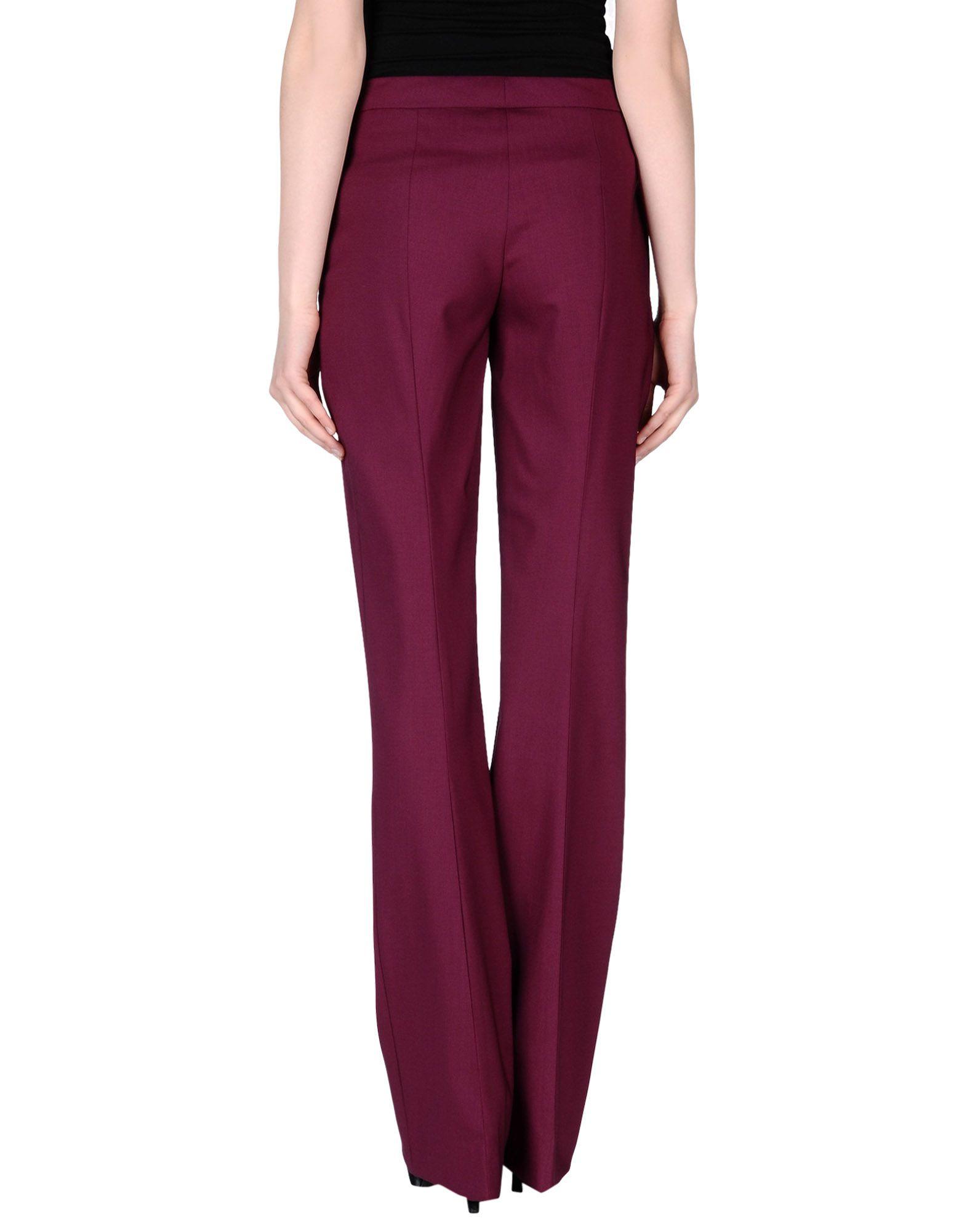 Prada Casual Trouser in Purple (Garnet) | Lyst