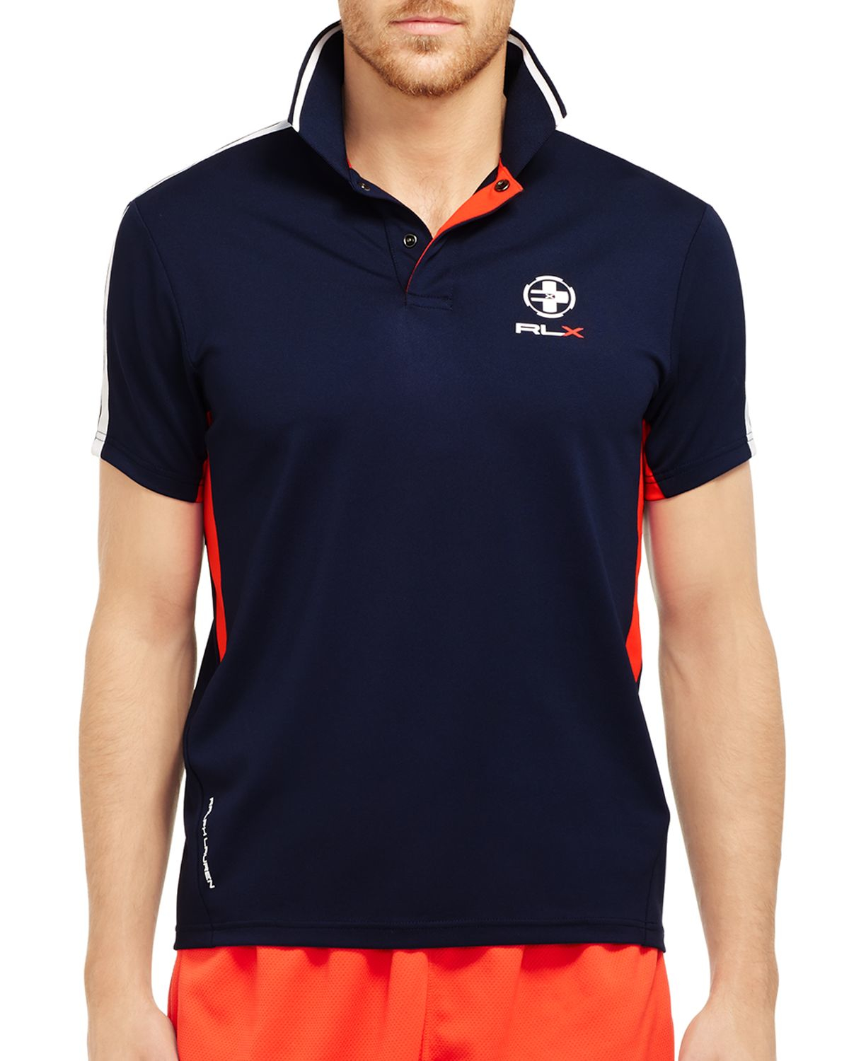Lyst Ralph Lauren Polo Sport Performance Mesh Rlx Polo Shirt In