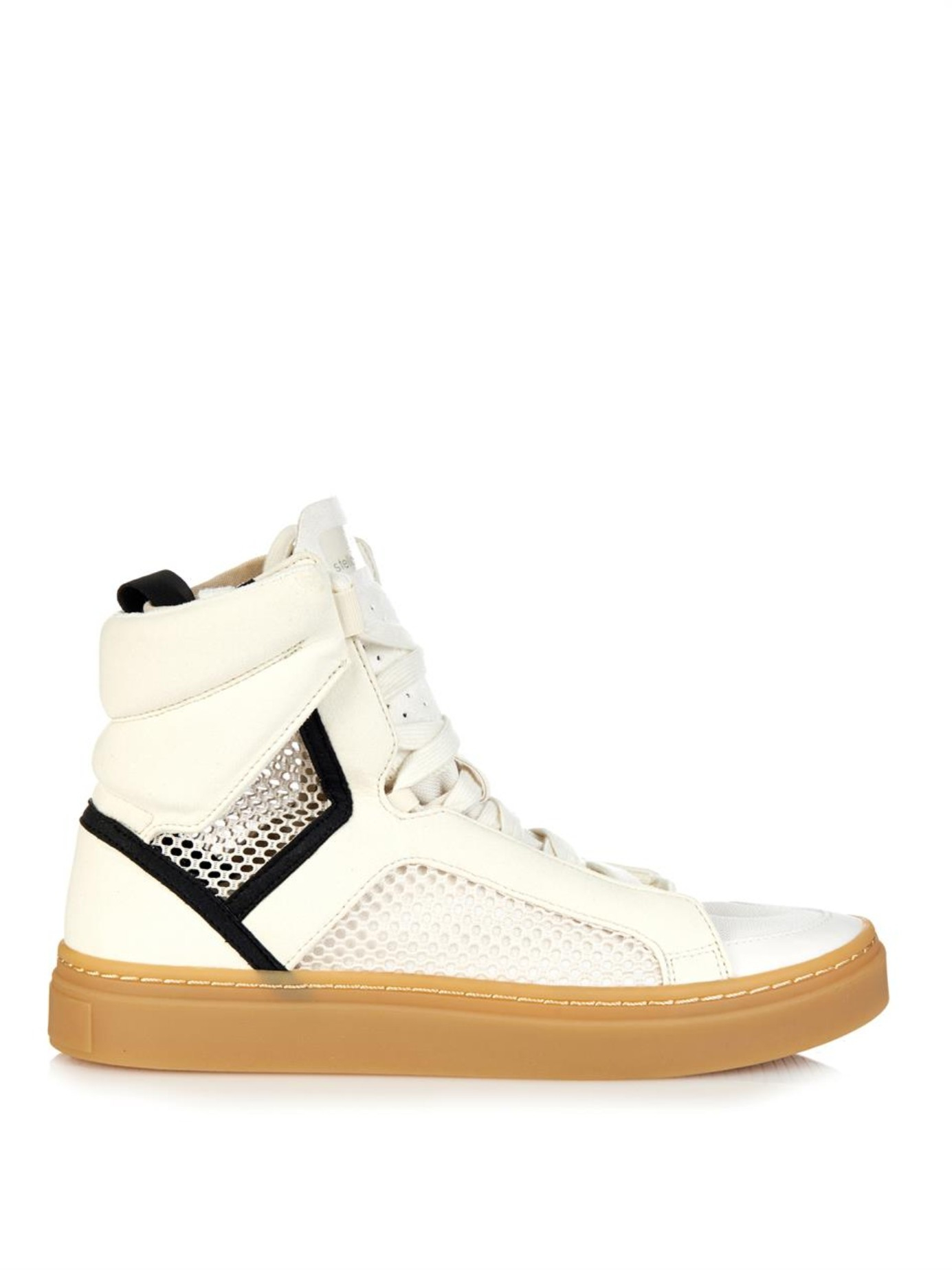 Top By Sneakers Mccartney Stella White Asamina Adidas High rCexdoBW