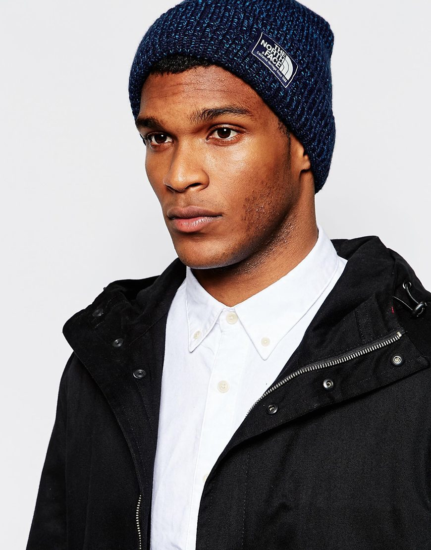 91767375df1 Lyst - The North Face Salty Dog Beanie Hat in Blue for Men