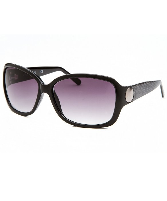 Kenneth Cole Sunglasses Reaction  kenneth cole reaction women s rectangle black sunglasses in black