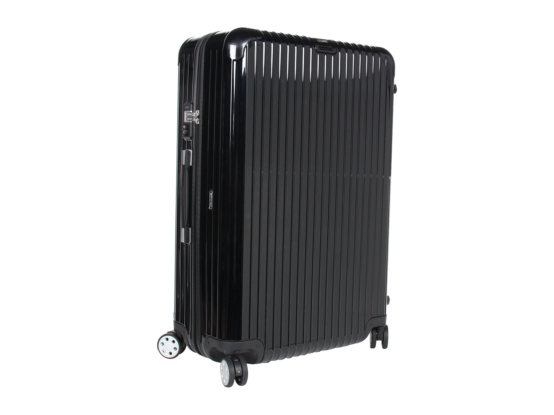 rimowa salsa deluxe 32 multiwheel in black lyst. Black Bedroom Furniture Sets. Home Design Ideas