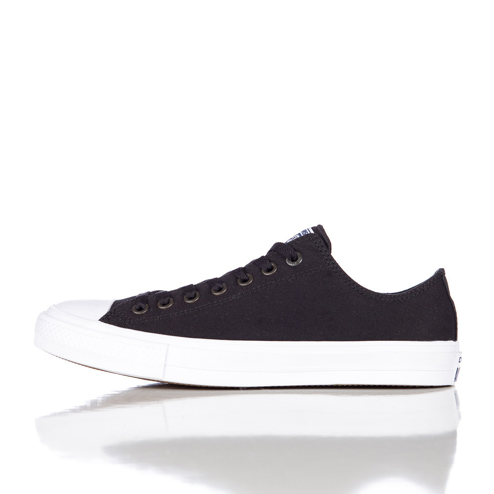 fdbe8279288 Lyst - Converse Chuck Taylor All Star Ii Ox Low In Black white for Men