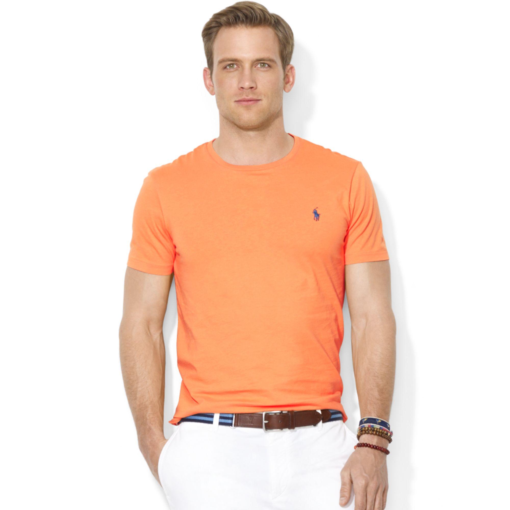 ed4a73e0f962f9 Polo Custom Fit Crew Neck T Shirt - DREAMWORKS