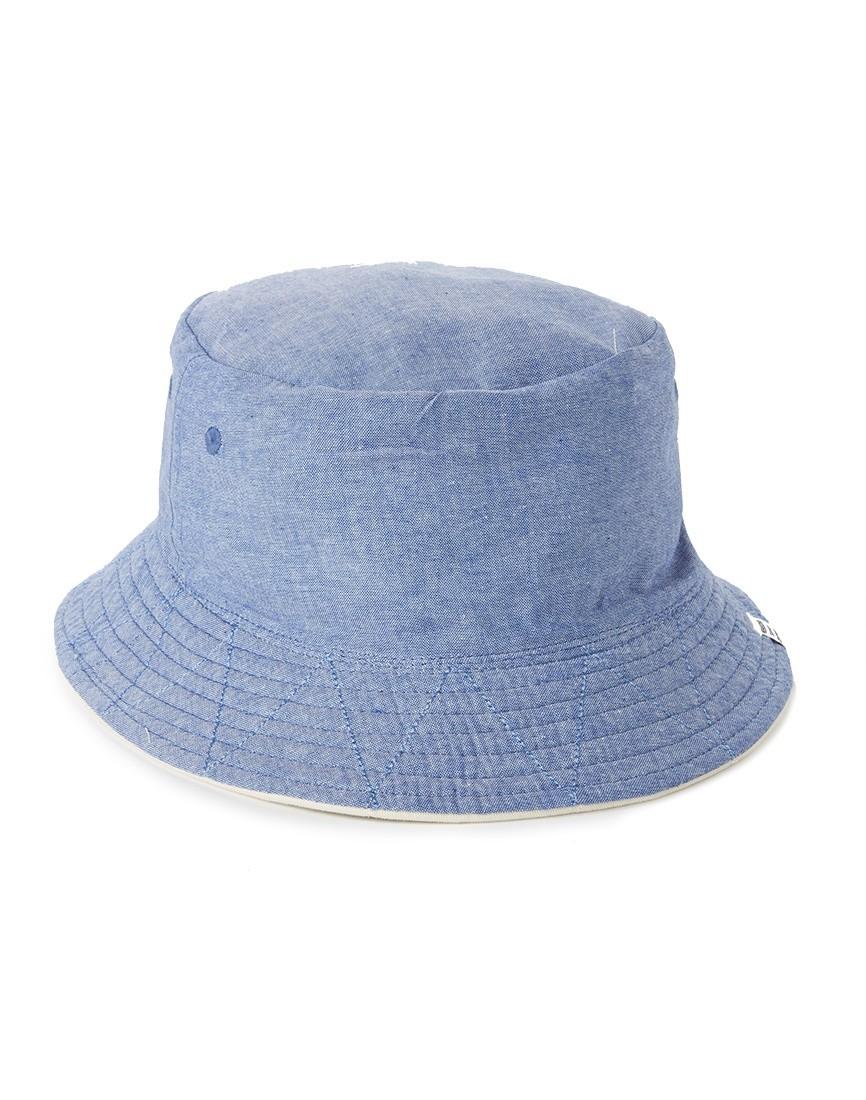 Lyst - Herschel Supply Co. Lake Reversible Bucket Hat - White in ... cce1366bb94c