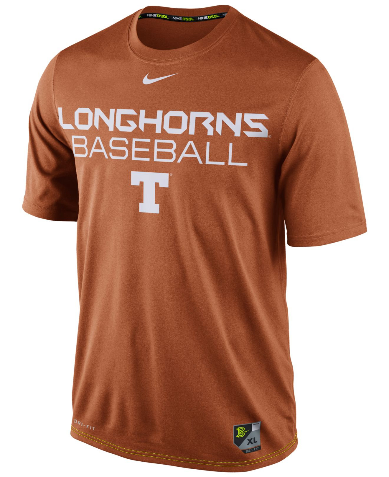 Ncaa t shirts texas longhorns orange for Texas baseball t shirt
