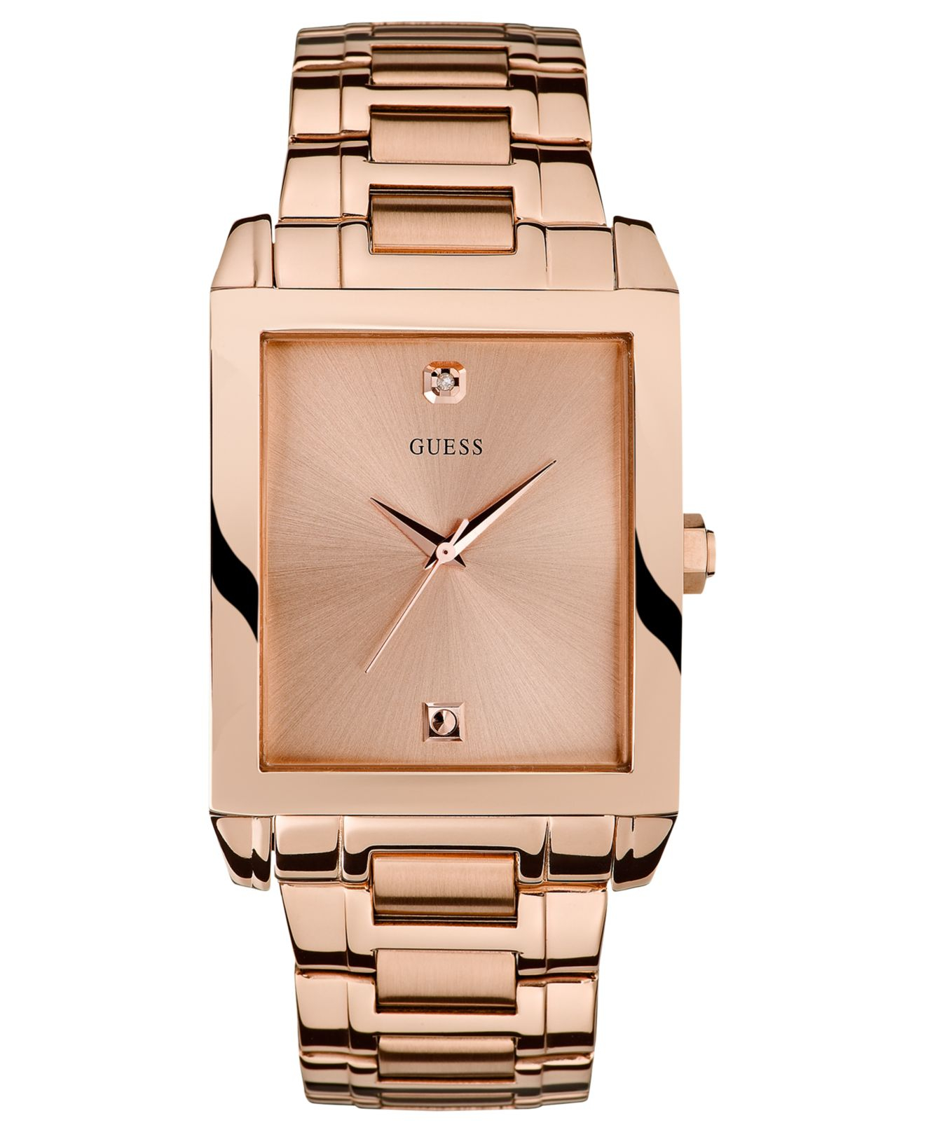 2019 year for women- Gold Rose watch guess