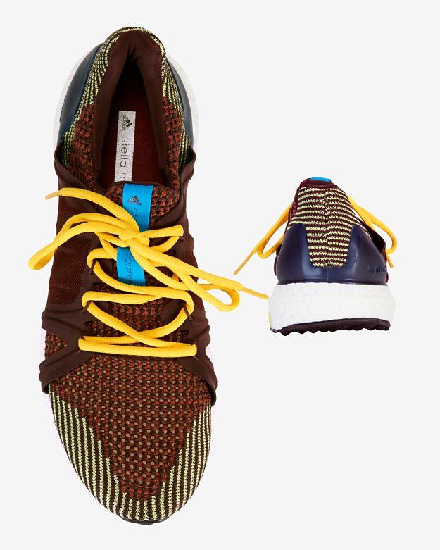 Lyst - adidas By Stella McCartney Ultra Boost Running Sneaker in Brown 4004a22ee