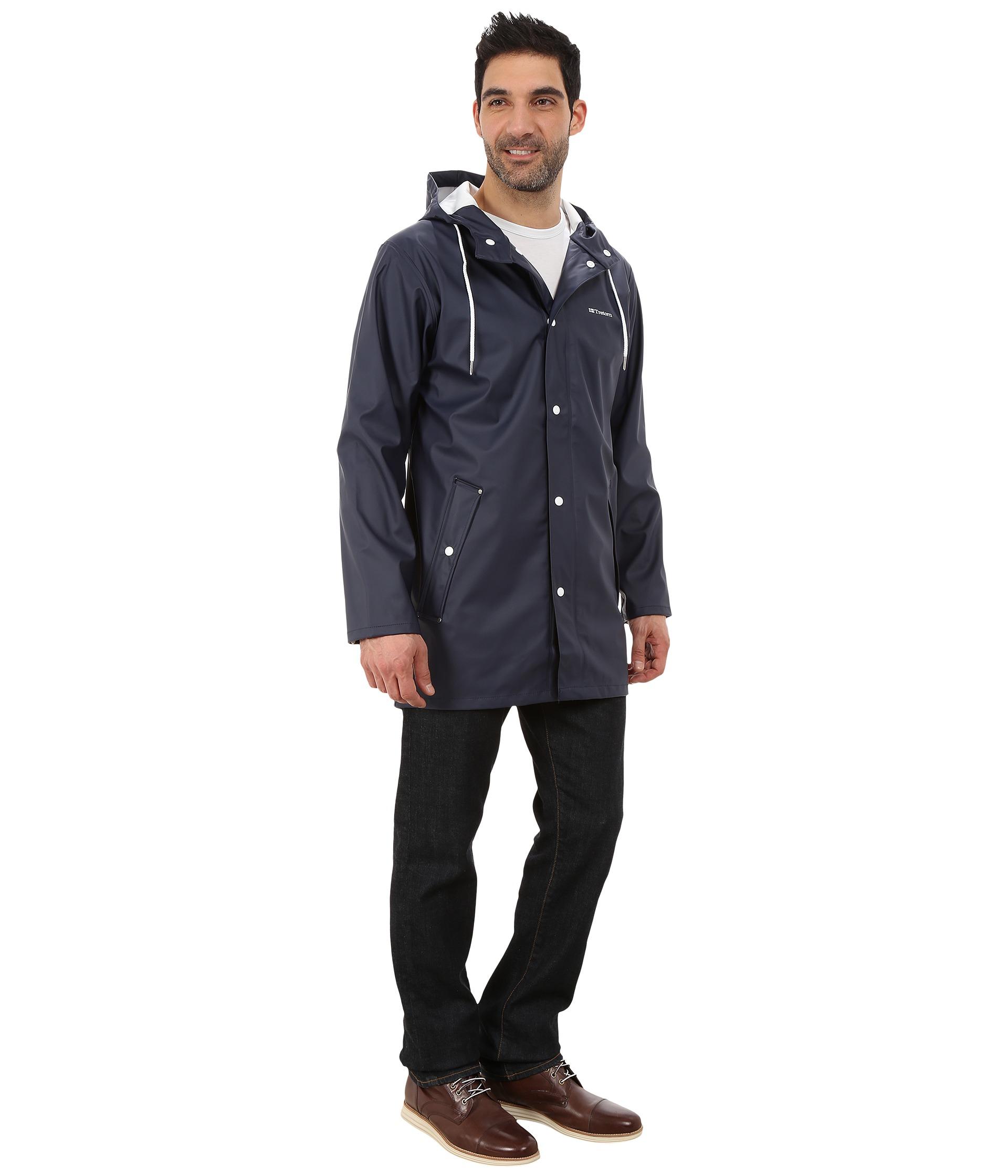 c761d696 Tretorn Wings Rain Jacket in Blue for Men - Lyst
