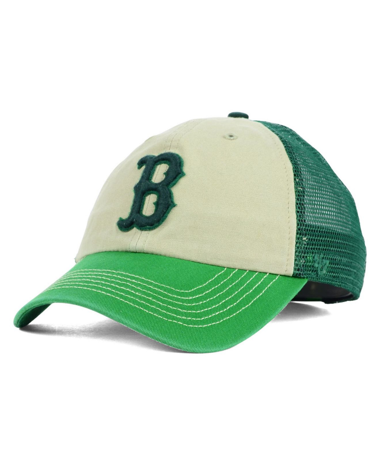Lyst - 47 Brand Boston Red Sox Mcnally Clean Up Cap in Green for Men 24db31ee660