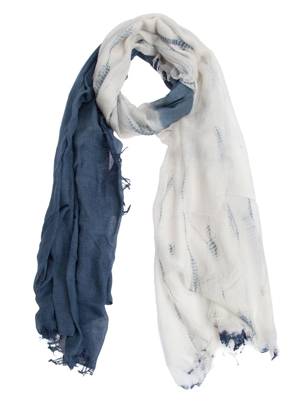 Suzusan tie-dye print scarf Free Shipping Outlet Sale The Cheapest Best Prices For Sale Good Selling Cheap Price Very Cheap Online CPVsm