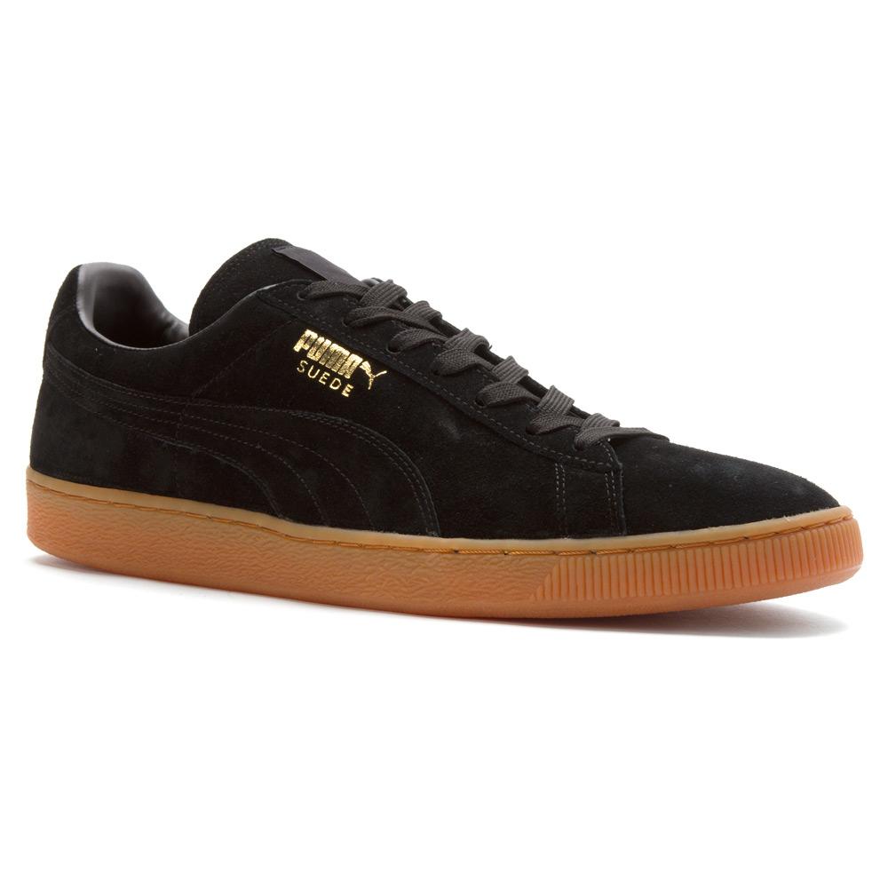 584b234042a9be Lyst - PUMA Suede Winter Gum Sneaker in Black for Men
