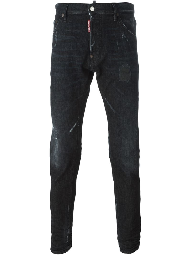 Lyst - Dsquared² 'cool Guy' Jeans in Black for Men