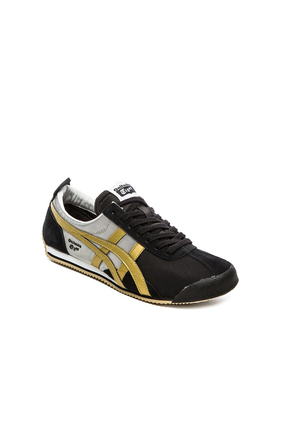 timeless design 71d12 ae26d Onitsuka Tiger Black Fencing Leather Sneakers for men