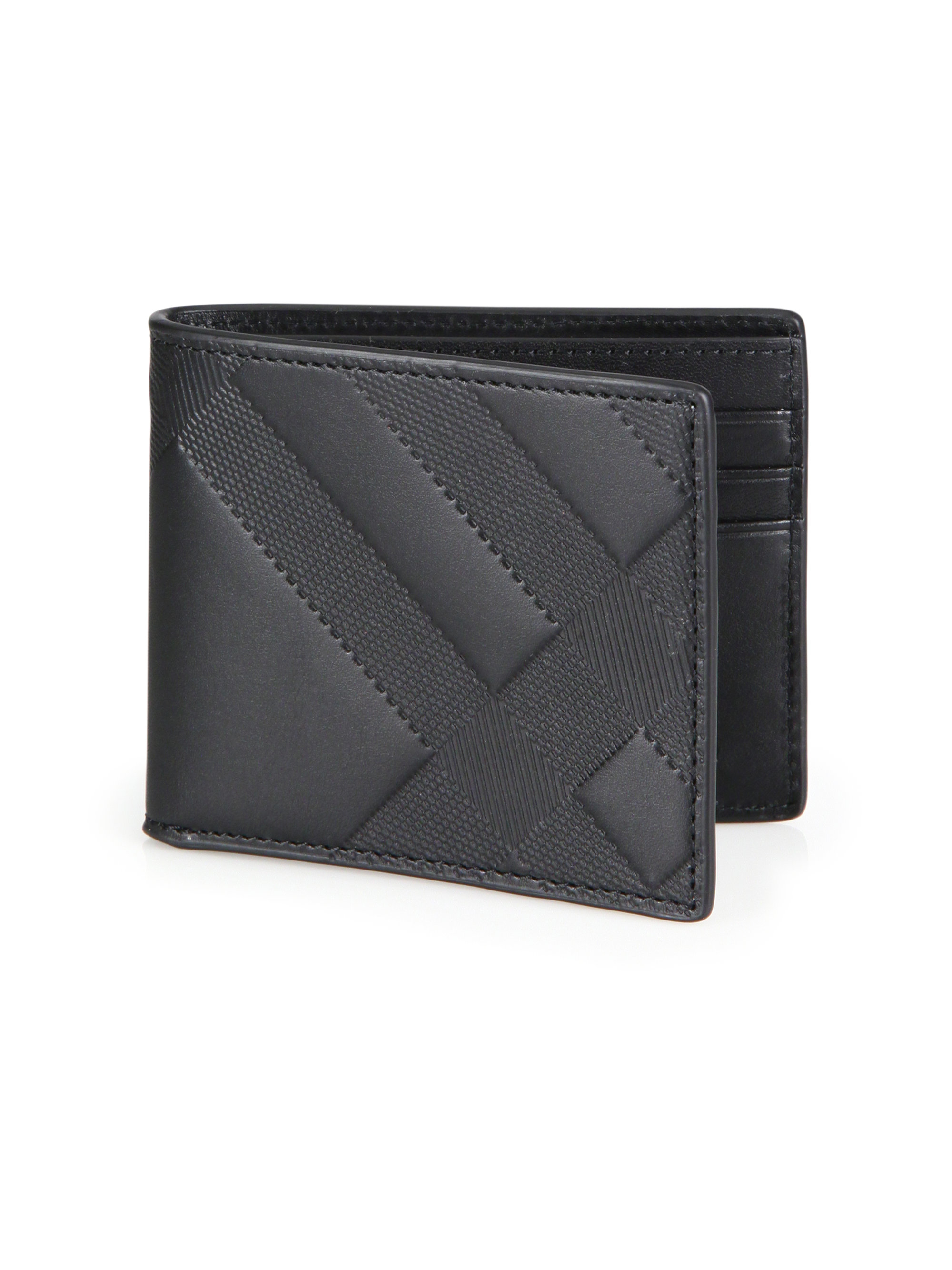 Burberry Embossed Leather Bifold Wallet Outlet Ebay Clearance Get Authentic Cheap Sale Outlet Locations 0ZGZVKhg