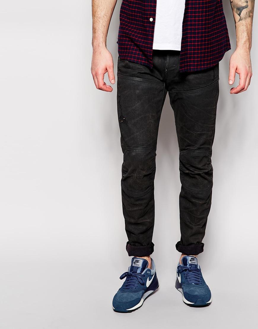 g star raw jeans elwood 5620 3d slim fit cobler dark wash. Black Bedroom Furniture Sets. Home Design Ideas
