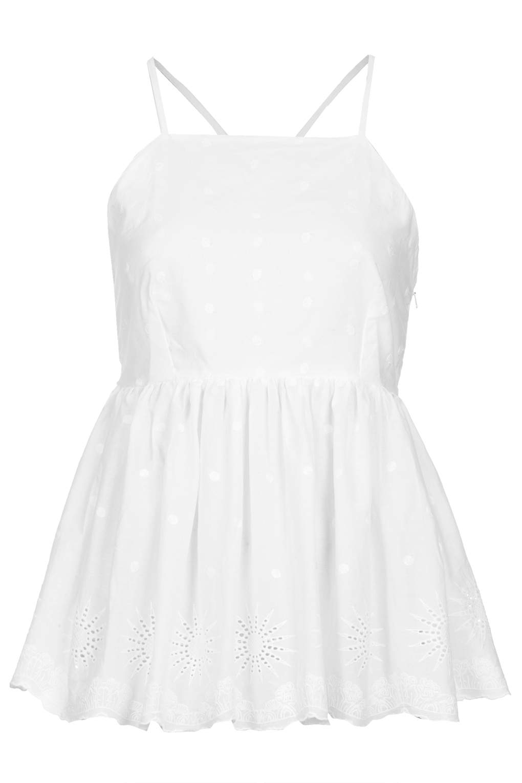 Topshop Womens Embroidered Camisole Top - Largest Supplier ZEgFS