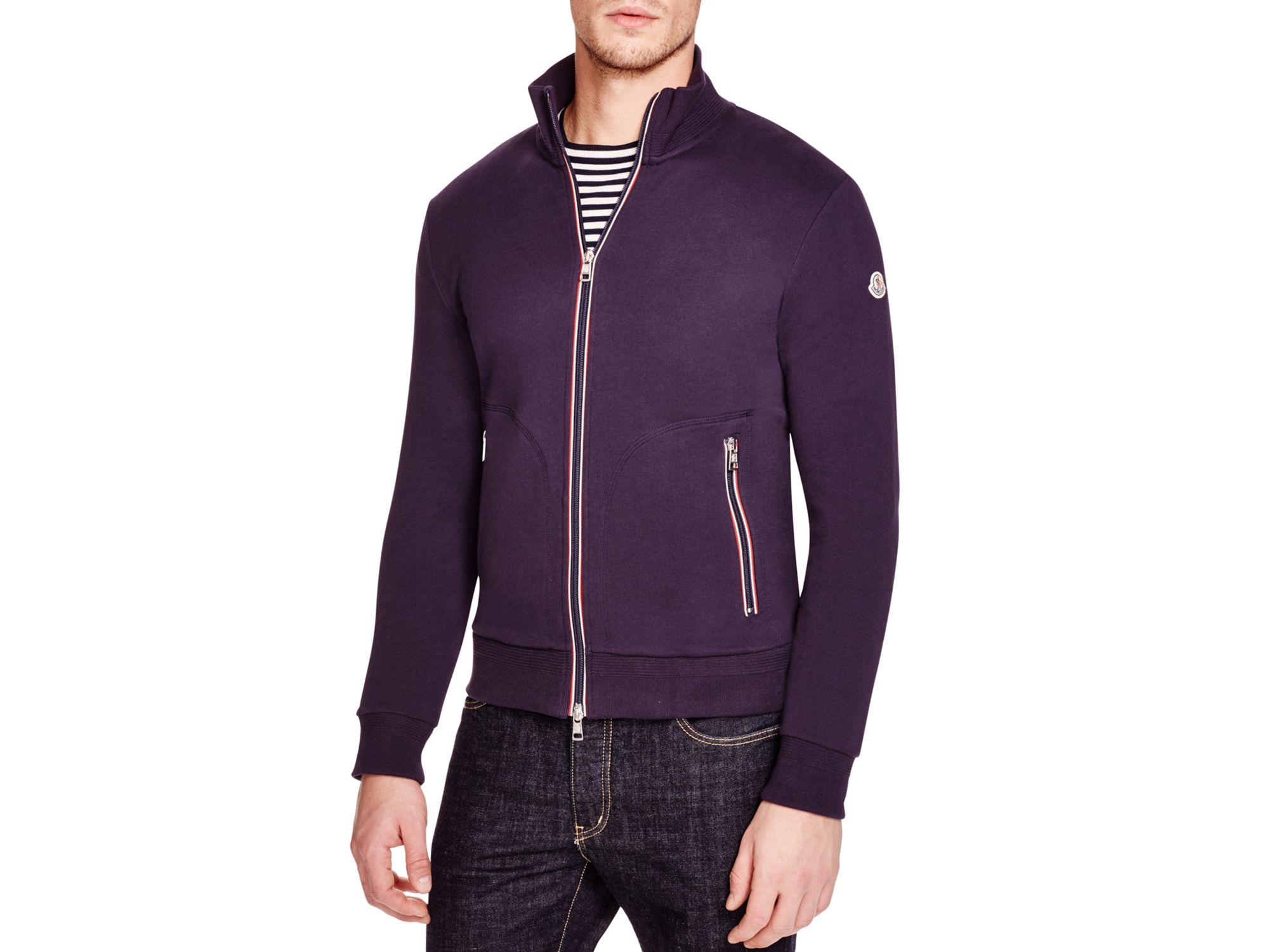 moncler zip sweater