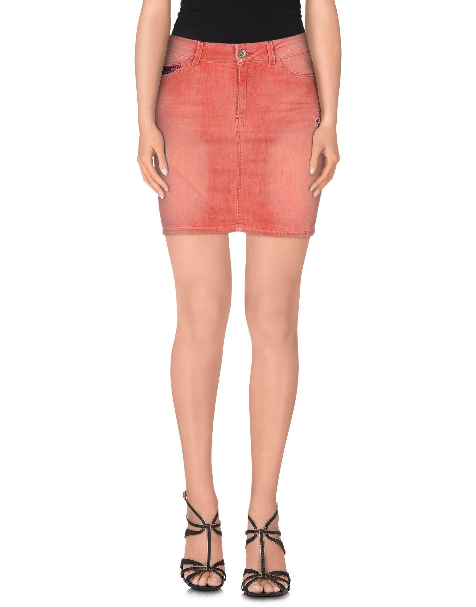 Pink Denim Skirt 89