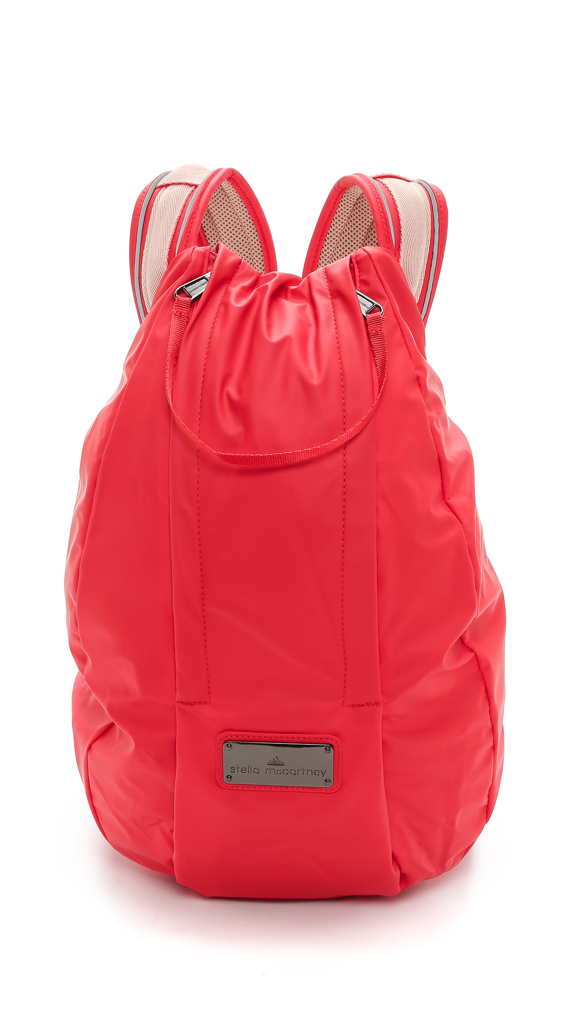 Lyst - adidas By Stella McCartney Running Cycling Backpack - Scarlet Red in  Red dd3898e8ec