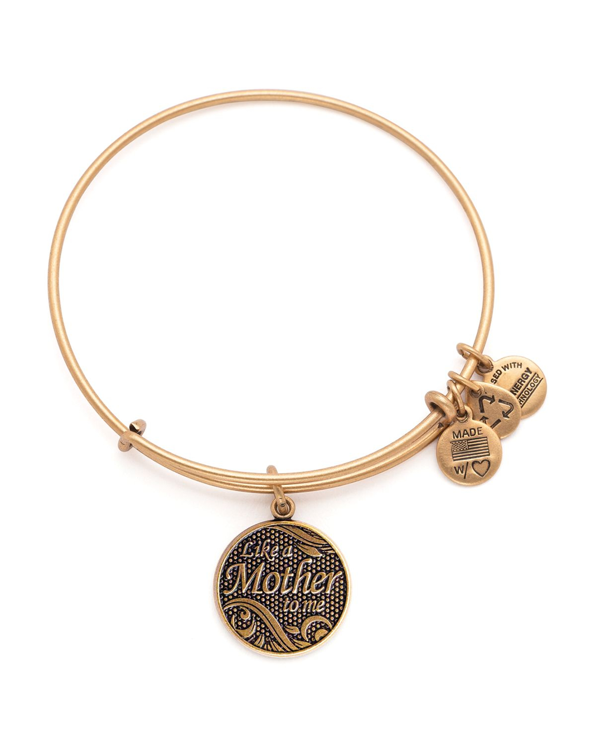 Very Lyst - Alex And Ani Like A Mother To Me Expandable Wire Bangle in  BG88