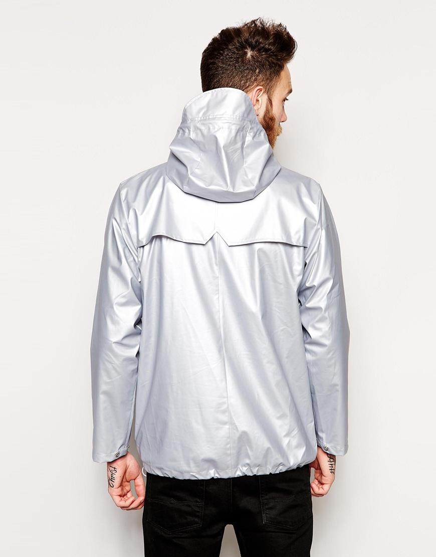 Lyst Rains Windbreaker Limited Edition In Metallic For Men