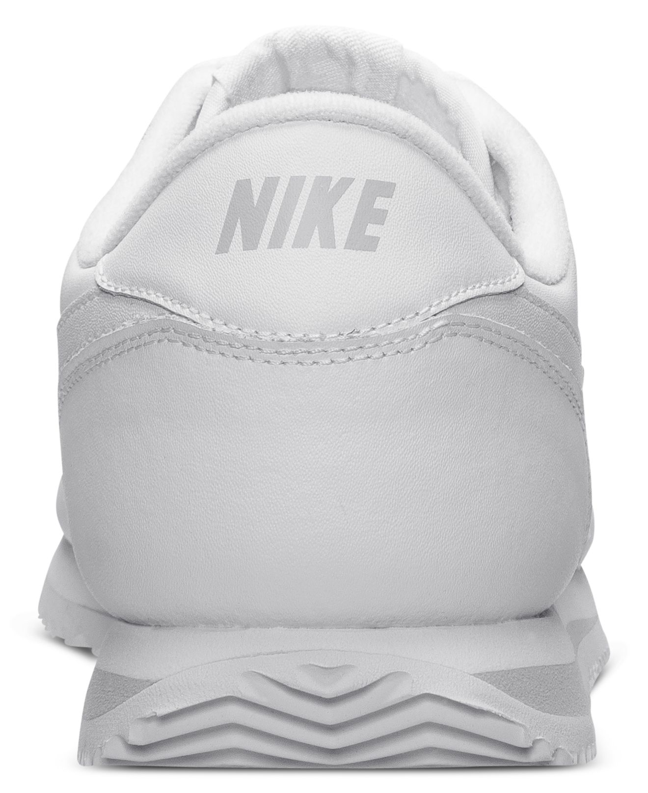check out 16547 48bb8 Nike White Men's Cortez Basic Leather Casual Sneakers From Finish Line for  men